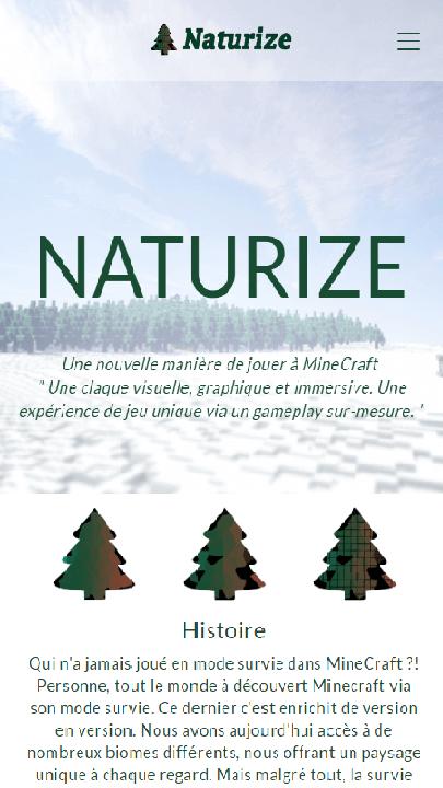 image du site Naturize